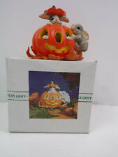 Vintage Charming Tails By Dean Griff Jumpin' Jack-o-lantern Bunnies Figurines