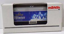 Märklin H0 94119 Bierwagen Winter Sauerländer - NEU NEW unbespielt