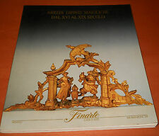 Finarte asta 873 - Arredi, dipinti, maioliche dal XVI al XIX secolo