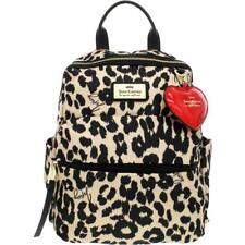 Juicy Couture Womens Glam Rock Tan Animal Print Backpack Purse Small BHFO 4924