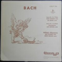 Bach - Sonatas, Vitali - Chaconne, OISTRAKH, OBORIN, MAKAROV, Colosseum MONO
