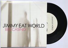 JIMMY EAT WORLD BIG CASINO rare UK 7 INCH VINYL RECORD BRAND NEW 2007 part 1
