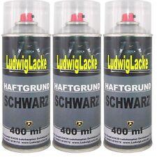 Grundierung 3 Spraydosen Haftgrund Schwarz Füller 400ml von Ludwiglacke Ludwigla