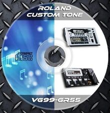 3.056 Patches ROLAND GR-55 VG-99 MultiEffects Processor. Custom Tone library