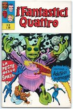 I FANTASTICI QUATTRO 4 corno N.19 LA PESTE DELLO SPAZIO capitan marvel 1971