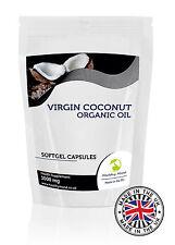 Huile Noix De Coco 1000mg x 120 Gélule Capsules Alimentaires Compléments