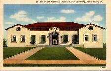 La Casa de las Americas Louisiana State University Baton Rouge LA Postcard