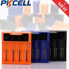 4 Slot USB Battery Li-ion/NIMH/NICD AA/AAA/C/18650/16340 Charger Fast  Charging
