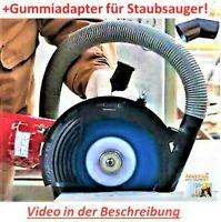 Absaughaube Staubabsaugung Air Duster Winkelschleifer 115, 125 , 230mm + Adapter