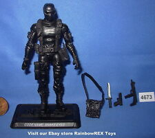 2009 SNAKE EYES Commando GI Joe 3 3/4 inch Figure