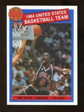 1984 MICHAEL JORDAN Missing Link Olympic Card Pre-Rookie Card MINT