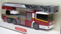 Wiking 1:87 Mercedes Benz Econic Drehleiter DLK 30 PLC OVP 615 40 Feuerwehr