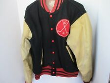 Vintage FELCO Wool & Leather LETTERMAN JACKET Fourth Ward Mountcalmers Size 42