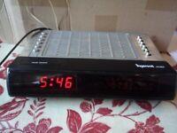 Retro Rare Vintage Ingersoll XK802 Clock Radio Alarm LW MW FM Working