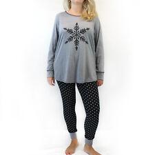 Cacique by Lane Bryant Plus Snowflake Christmas Pajamas Size 22/24