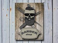 Barber Shop Letrero metal Decor Decoración De Pared Placas 876