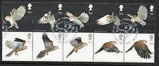 GB 2003 Birds of Prey fine used set stamps