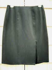 A|wear CLASSIC Charcoal Gray Stretch Skirt ~Designed in LONDON~ size 10