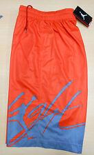 Nike sz S JORDAN COLOR OF FLIGHT Basketball SHORTS NEW $50 452260 828 Orange
