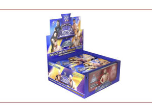 Full Box 24 WWE Flip Madness Flipping Mini Animated Books Wrestling Memorabilia