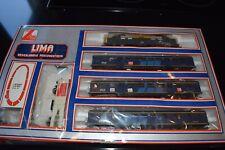 Lima HO NS 1220 Nederlandse personentrein locomotief + 3 Plan E rijtuigen enz.