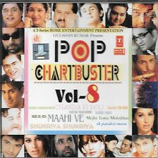 POP CHARTBUSTERS À. 8 - NEUF BOLLYWOOD COMPILATION CD