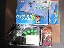 Hori Fighting Stick SS + Galaxy Fight SEGA Saturn PAL Neuf/New!!!