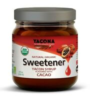 Yacona Yacon All Natural Organic Syrup Flavored W/ Cacao - Low Calorie Sweetener