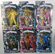Power Rangers Movie 2017 Legacy Collection Set Of 6 Figures Megazord BAF (MOC)