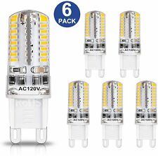 LED G9 4W Replacement JCD Bi-Pin Base 120V 6000K or 3000K  (6 pack)