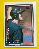 1992 JIM Thome ROOKIE topps CARD #768 Baseball vintage Cleveland Indians MLB RC