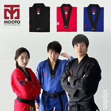 MOOTO BS4 COLOR Taekwondo Uniform Blue / Red / Black Dobok WTF Tae Kwon Do