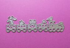 Die cutting - matrice de coupe - animal train - enfant bebe - baby toy