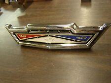 OEM Ford Rechrome 1963 Galaxie Grille Ornament Emblem Trim