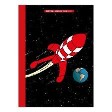 Tintin Hergé – Papeterie civile – Agenda de poche 2019 – Aventure sur la Lune