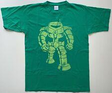 SHELDON ROBOTER T-shirt Big Bang Theory TV Serie grün Gr.M *SEHR GUTER ZUSTAND*
