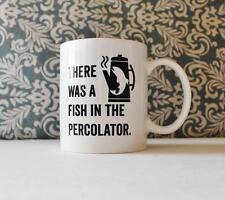 There Was A Fish in the Percolator, Twin Peaks Coffee Mug Pencil Holder gift Cup