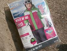 Veste Ski Fille 8/10 ans CRIVIT sports 134/140 cm..VERT/ROSE/ BLANC NEUVE