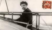 Louis Bleriot - Aviation Pioneer 1909 OLD ILLUSTRATION PHOTO