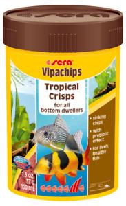 37g Sera Vipachips staple Fish Food 100mL Ornamental Aquarium Tank Variety