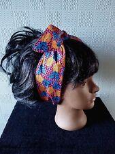 TESTA AFRICANA Sciarpa Fascia per capelli bandana Self Cravatta per capelli d24250c23ae