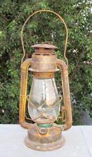 Vintage Old Collective Dietz Junior Gold Blast Kerosene Lamp Lantern Made In USA