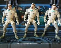 STAR WARS FIGURE 1995 POTF COLLECTION HOTH REBEL SOLDIERS LOT X3