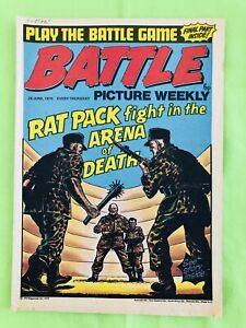 Battle Picture Weekly. British Comic Book. 28 June 1975 Very Good Condition.