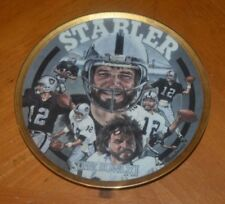 "VERY RARE KENNY ""THE SNAKE"" STABLER PLATE SPORTS IMPRESSIONS 809 / 7500"