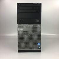 Dell Optiplex 3010 Core i3 - 3320 8GB RAM 500GB Windows 7 Pro Tower PC Computer