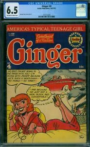 Ginger 4 CGC 6.5 - OW/W Pages