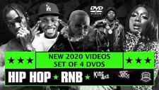 2020 Hip Hop R&B 146 Music Videos 4 Dvds Ft Travis Scott Rick Ross Drake DaBaby