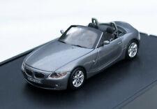Minichamps BMW Z4 Roadster - Modell E85 Bj. 2002-2006, M. 1:43, graumetallic