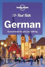 Lonely Planet Fast Talk German Phrasebook * - New*